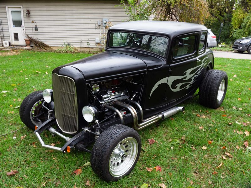 1932 Ford 5 window coupe For Sale in Indianapolis, Indiana | Old ...
