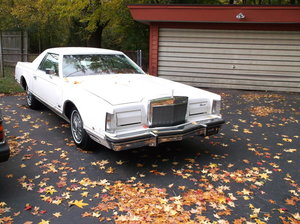 1979 Lincoln Mark V St. Tropez pickup conversion
