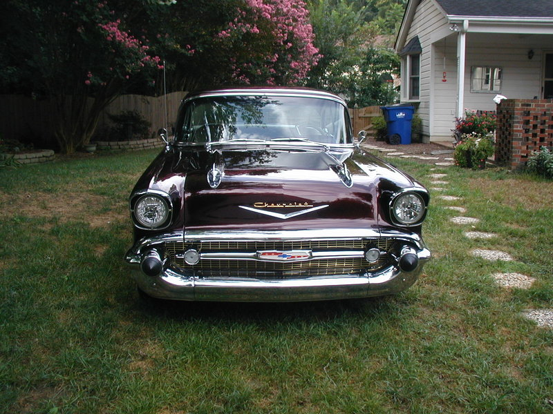 1957 Chevrolet BelAir For Sale in Raleigh, North Carolina | Old ...