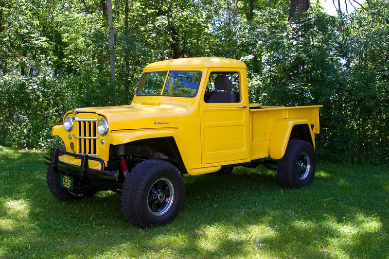 1959 jeep willys pickup for sale in columbus wisconsin old car online. Black Bedroom Furniture Sets. Home Design Ideas