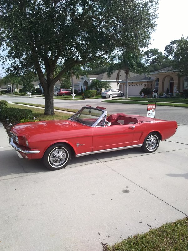 1966 Ford Mustang convertible For Sale in Bradenton, Florida | Old ...