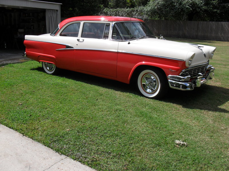 1956 Ford Customline For Sale in Houston, Texas | Old Car Online