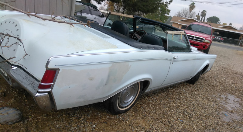 Cars For Sale By Owner In Bakersfield Ca >> 1971 Lincoln Mark 3 For Sale In Bakersfield California Old Car