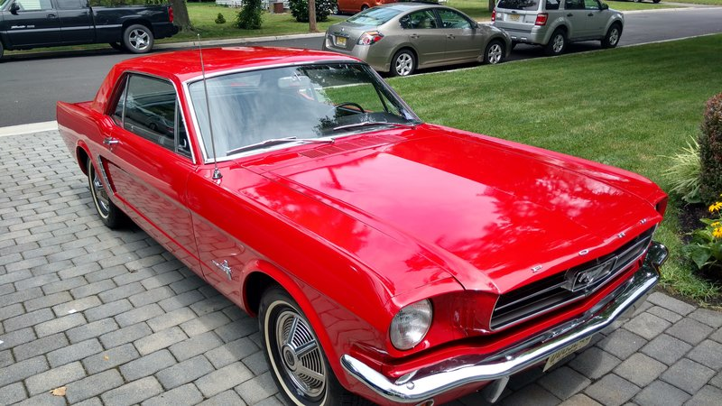 1965 ford mustang for sale in point pleasant new jersey old car online. Black Bedroom Furniture Sets. Home Design Ideas