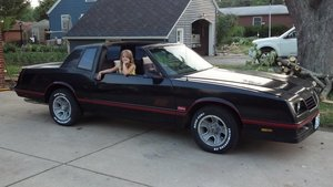 1987 Chevrolet SS Monte Carlo with T-tops