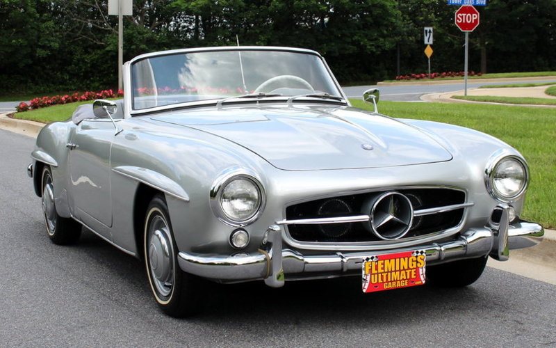 1956 mercedes benz 190sl for sale in rockville maryland for Mercedes benz maryland