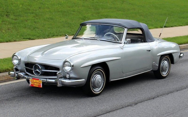 1956 mercedes benz 190sl for sale in rockville maryland