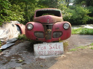 1941 Ford delux business cupe