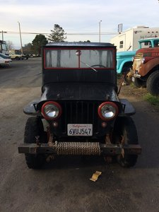1948 Jeep-Willys Willys