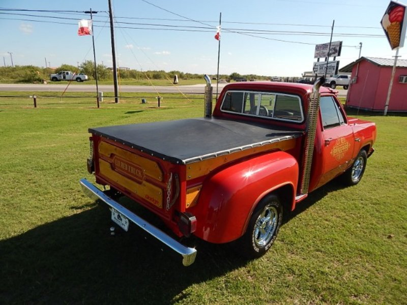 1980 Dodge lil red truck /clone