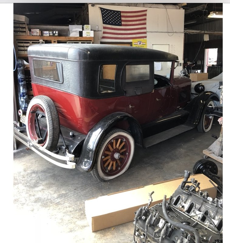 1925 studebaker duplex phatom for sale in san antonio texas old car online. Black Bedroom Furniture Sets. Home Design Ideas