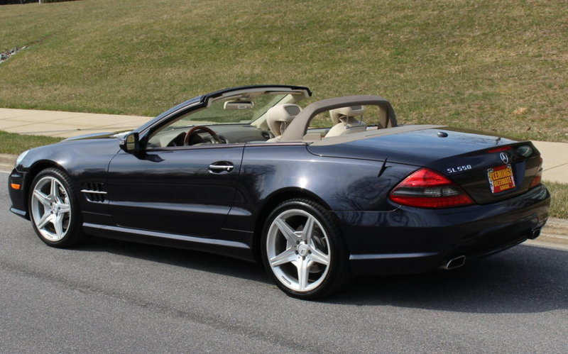 2009 Mercedes Benz Sl 550