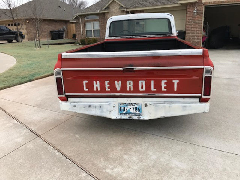 1972 Chevrolet C-10 For Sale in Moore, Oklahoma | Old Car Online