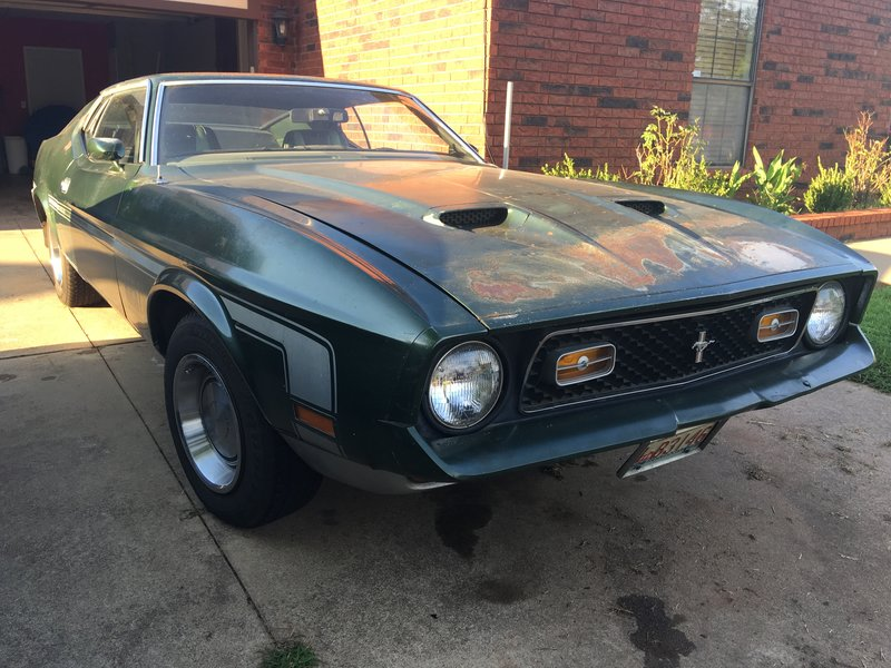 1971 Ford Mustang Mach 1 For Sale in Mustang, Oklahoma | Old Car Online