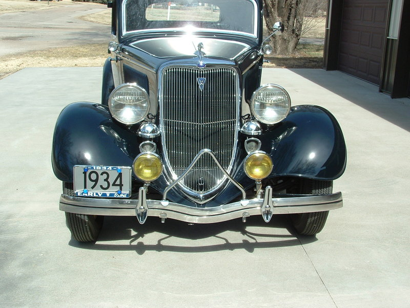 Ford Dealers In Kansas >> 1934 Ford 1934 5-window rumble seat coupe w/ trailer For Sale in Concordia, Kansas | Old Car Online