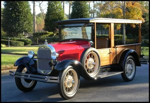 1929 Ford Huckster Woody Wagon