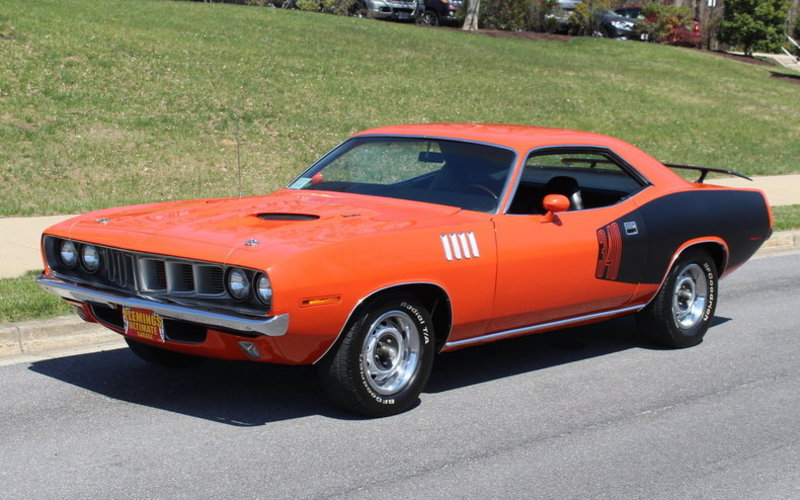1971 Plymouth Cuda For Sale In Rockville Maryland