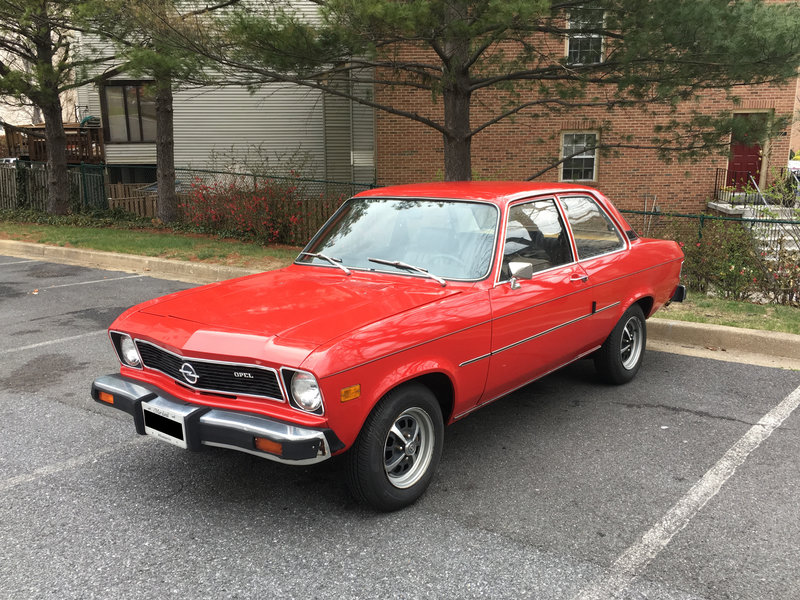 1975 Opel 1900 For Sale in Bethesda, Maryland | Old Car Online