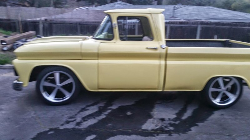 1962 Chevrolet C-10 Shortbed Fleetside