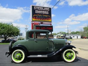 1930 Ford Model A 2 Door Coupe with Rumble Seat