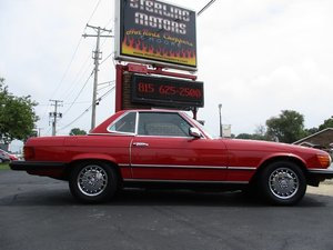 1985 Mercedes Benz 380SL Roadster