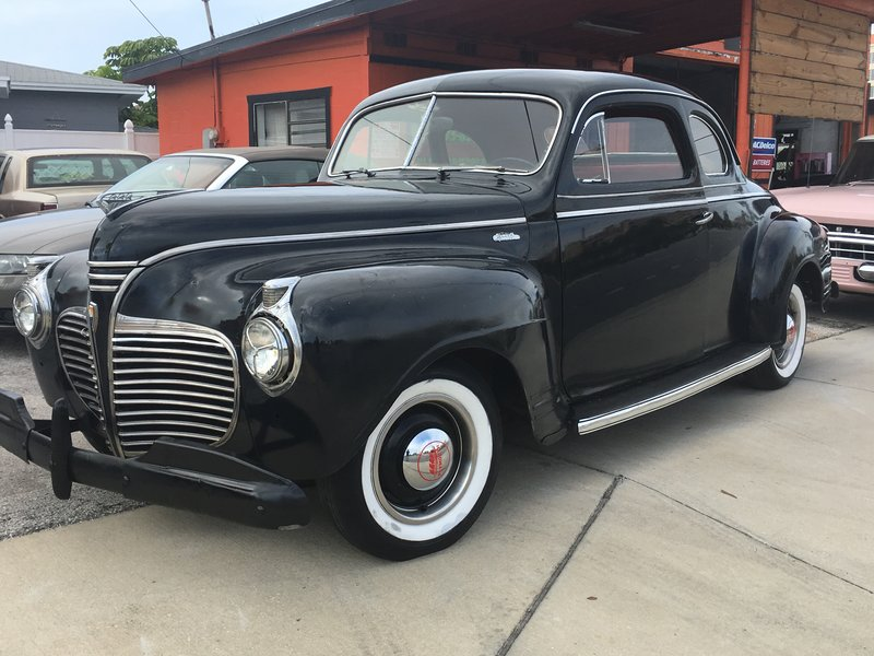1941 Plymouth P12 Special Deluxe 2 Dr Hardtop
