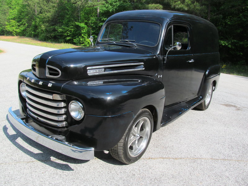 1950 Ford F1 Panel Truck For Sale in Fayetteville, Georgia | Old Car ...