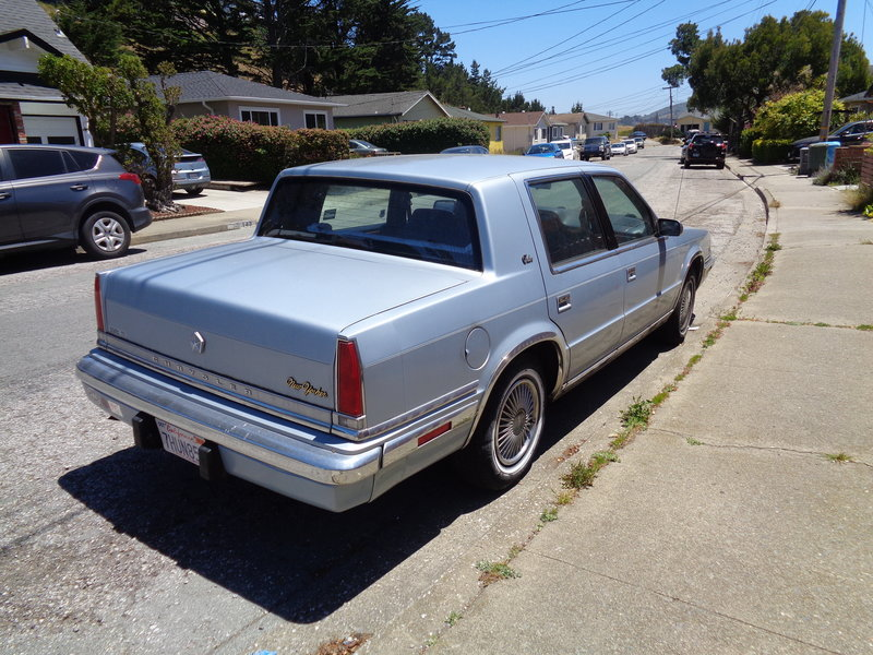1991 Chrysler New Yorker