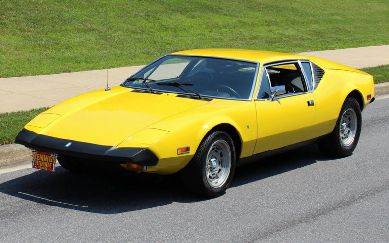 Ford Pantera For Sale >> 1974 De Tomaso Pantera For Sale In Rockville Maryland Old