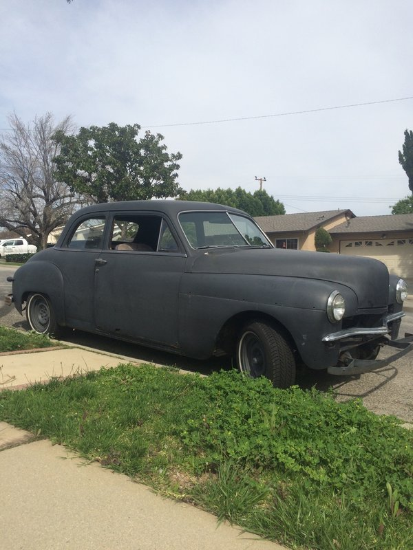 1949 Plymouth Deluxe