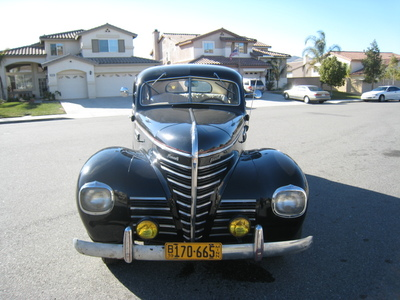 1939 Plymouth P8 Road King Delux