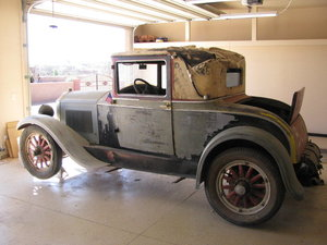 1928 Buick country club