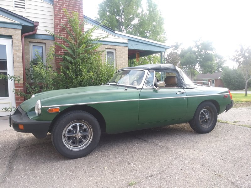 1980 MG B For Sale in Lakewood, Colorado | Old Car Online