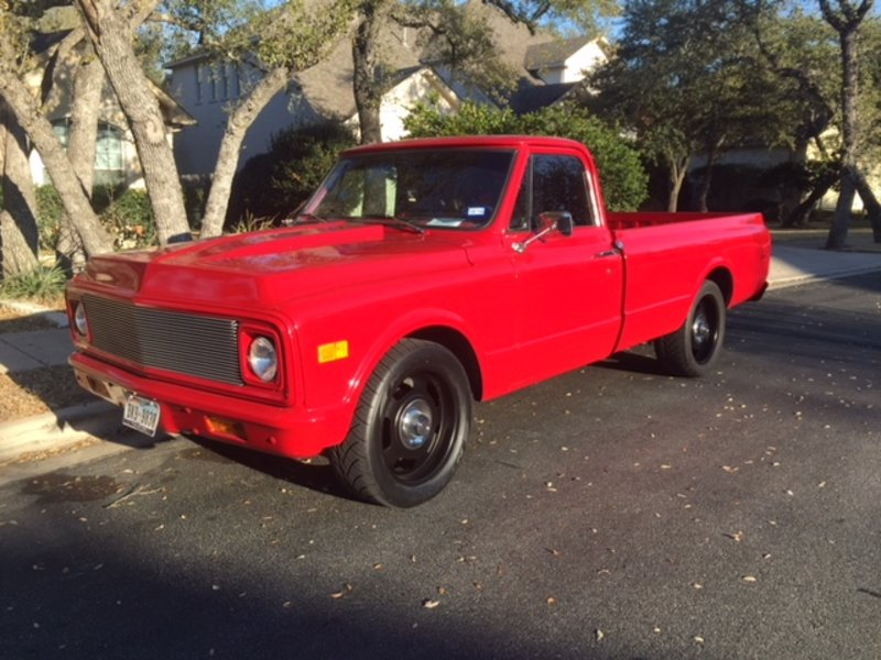 1971 chevrolet c10 for sale in austin texas old car online. Black Bedroom Furniture Sets. Home Design Ideas