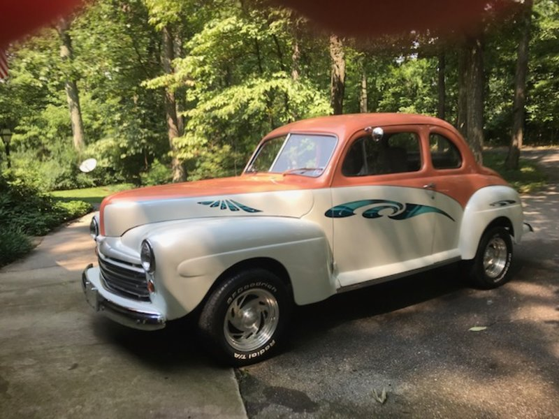 1948 Ford Businessman coupe/streetrod