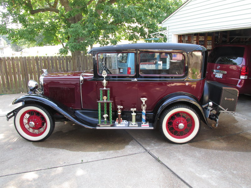 1931 Ford Model A Tudor For Sale in Manchester, Missouri | Old Car ...