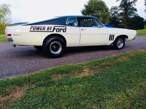 1968 Ford Galaxie 500 fastback