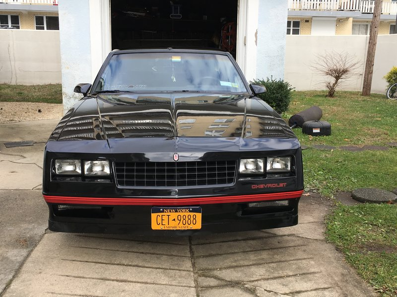 1987 Chevrolet Monte Carlo SS For Sale in Asbury Park, New Jersey
