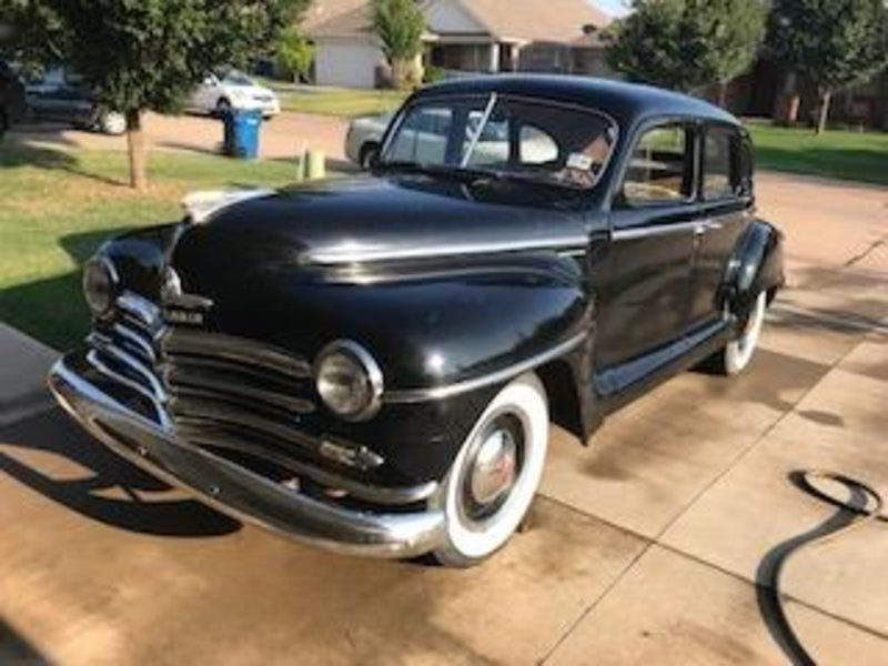 1948 Plymouth Special Deluxe with Suicide Doors