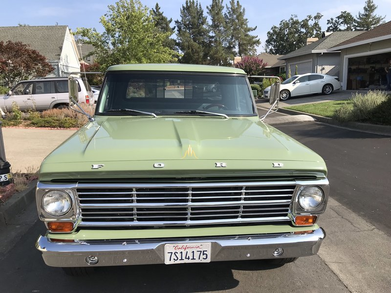 1968 ford f 250 for sale in santa rosa california old car online. Black Bedroom Furniture Sets. Home Design Ideas