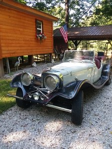 1939 Jaguar kit car