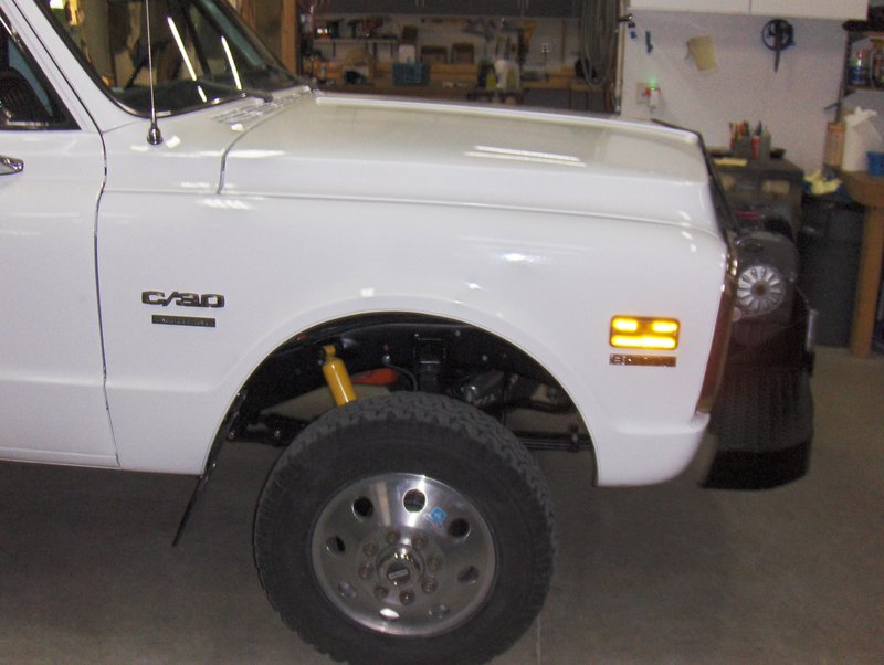 1972 Chevrolet C20 4WD Flat Bed