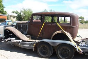 1933 Plymouth P4