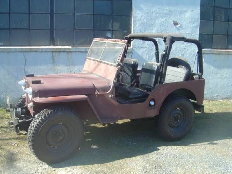 1948 Willy\'s CJ-2A