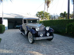 1931 Packard deluxe rumble seat coupe model 833