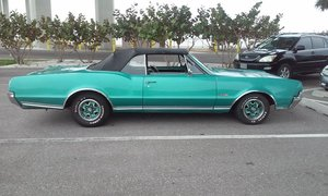 1967 Oldsmobile 442 Convertible, 4-Speed