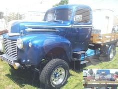 1947 Plymouth Flat Bed