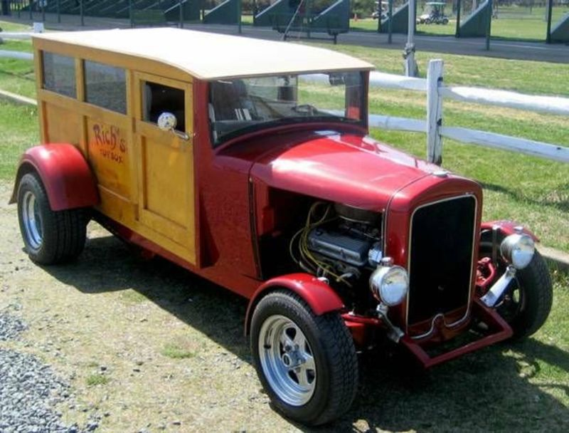 1933 International Panel Delivery