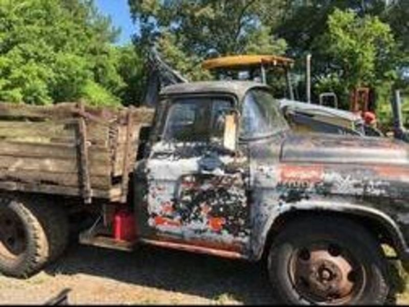 1957 Chevrolet 4100 For Sale In Cadillac Michigan Old Car