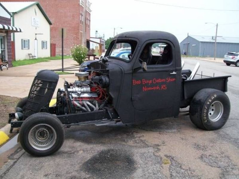 1938 International Rat Rod